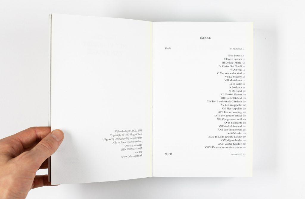 boekontwerp Het verdriet van België